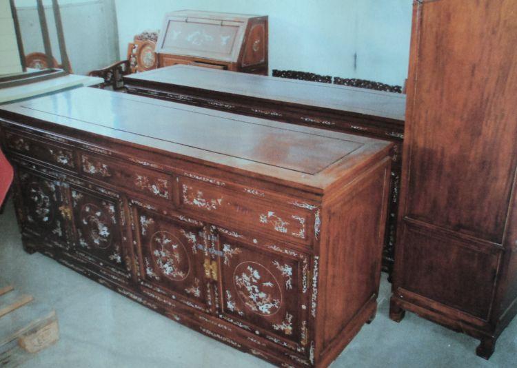 posten teak m bel mittel java indonesien 10 teile ebay. Black Bedroom Furniture Sets. Home Design Ideas