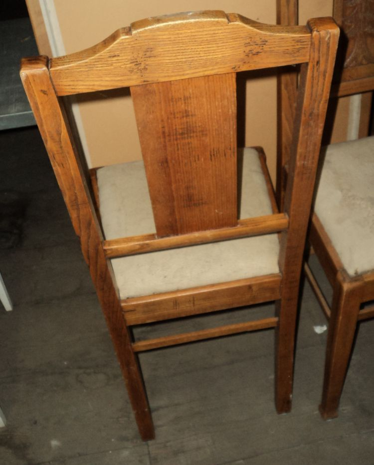 2 antike st hle um 1900 tannen motiv schwarzwald ostrach. Black Bedroom Furniture Sets. Home Design Ideas