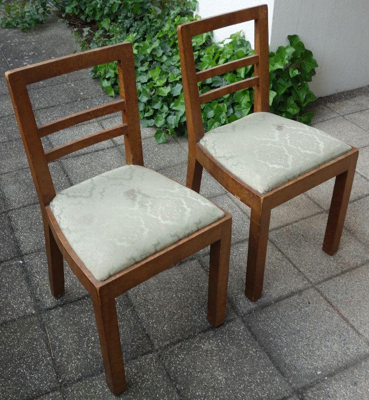 2 alte st hle wohl nussbaum ostrach. Black Bedroom Furniture Sets. Home Design Ideas