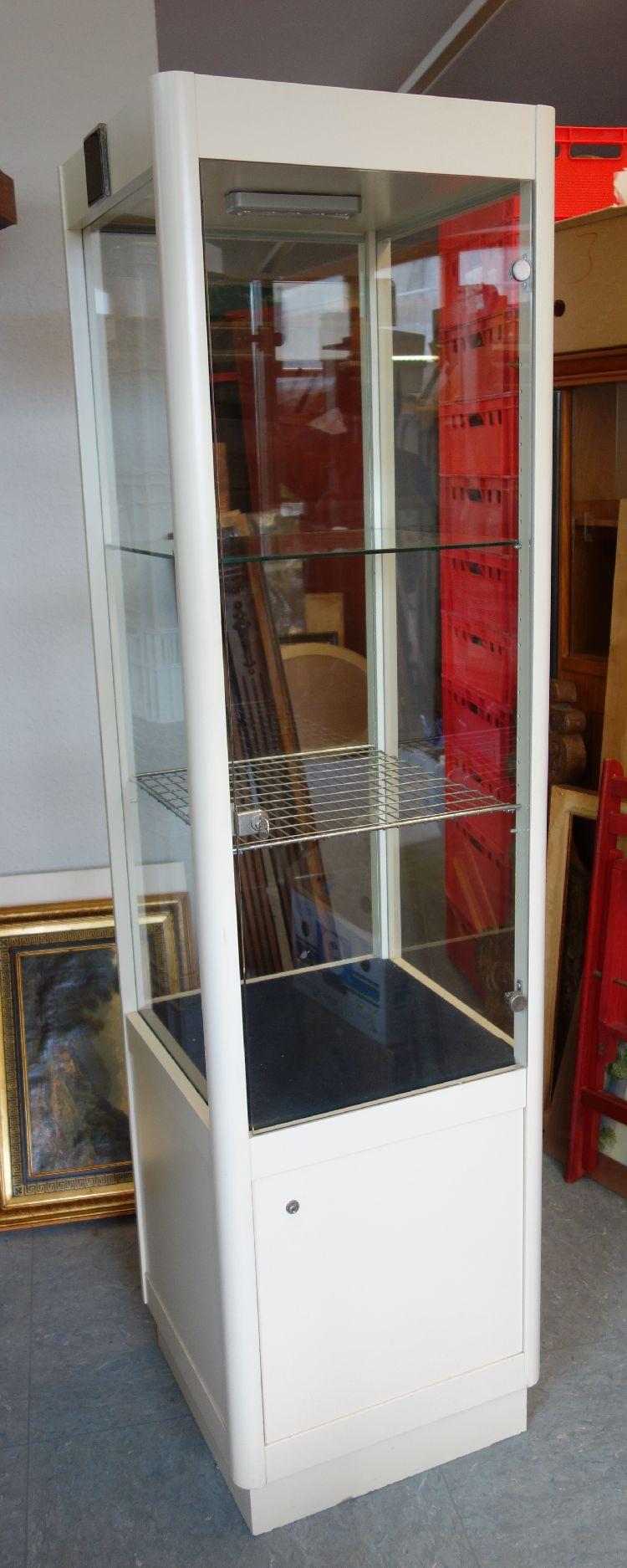 sch ne ladenvitrine schmuckvitrine glas vitrine abschlie bar sammlervitrine ebay. Black Bedroom Furniture Sets. Home Design Ideas